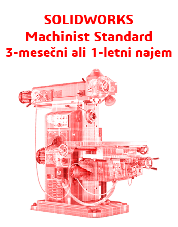 SOLIDWORKS Machinist Standard Term License